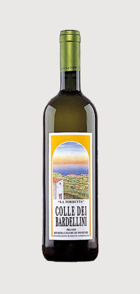 """Colle dei Bardellini """"La Torretta"""" Pigato Riviera Ligure di Ponente DOC"""