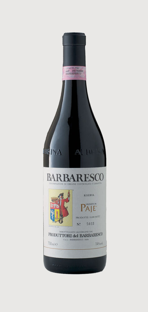 Produttori del Barbaresco Paje` Barbaresco Riserva DOCG